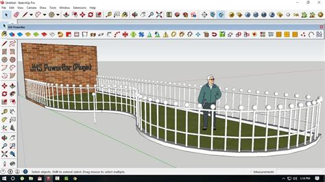 Tutorial Sketchup - How to array object follow the line