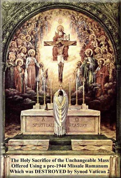 Council of Trent, Session 22, On the Catholic Mass with