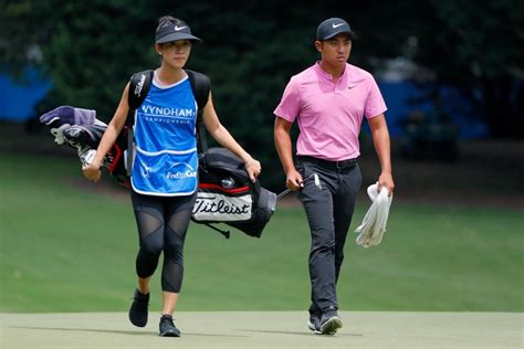 """PGA Tour pro says his wife didn't """"help me much"""" during"""