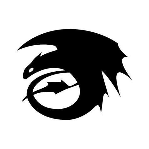 Vinyl Decal - Free Shipping: Toothless from How to Train