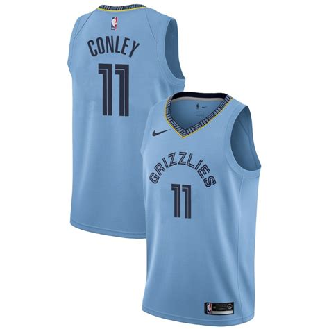 Grizzlies Mike Conley Statement Edition Blue Jersey