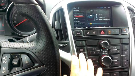 Astra J Multimedia Android GPS Navigation - YouTube
