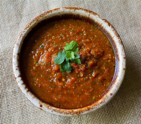 Roasted Chipotle Tomato Salsa - Partial Ingredients