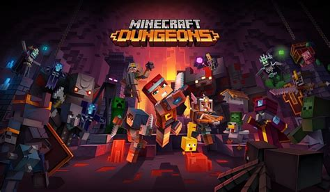 Minecraft Dungeons DLC Howling Peaks Announced at