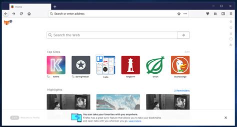 Firefox Photon: new design mockups show interface, and