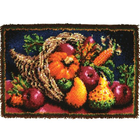 Find the Wonderart® Classic Latch Hook Rug Kit, Country