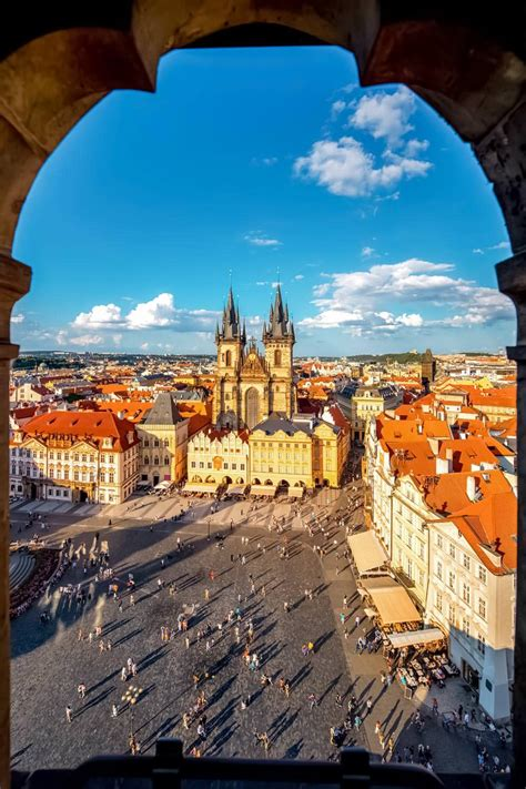 Old Town Square, Prague - Discover the Beauty of Czechia's
