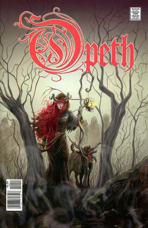 Review + Giveaway: Opeth Comic Book – Metal Assault