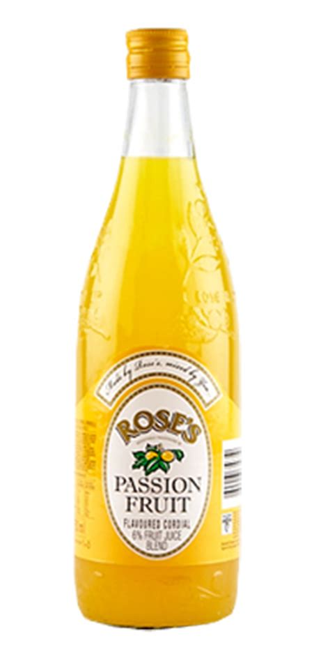 Roses Passion Fruit Cordial | South African Drinks