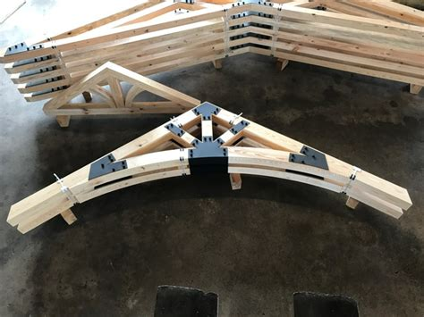 Structural Timber Trusses | Industrial Wood Products