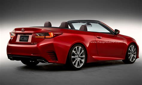 New Lexus RC Rendered as Convertible - autoevolution