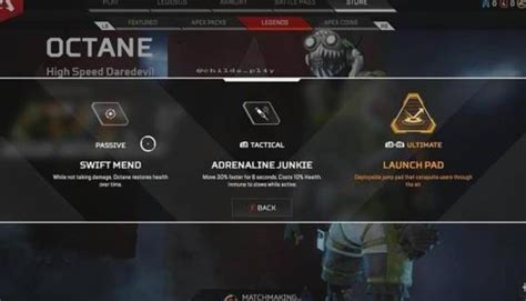 Apex Legends: Octane's Abilities Have Been Leaked