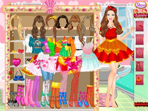 Download Barbie Go To Party Game