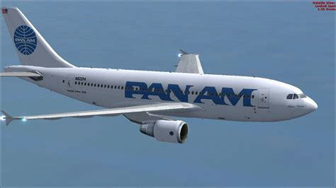 Pan Am Airbus A310-324 for FSX