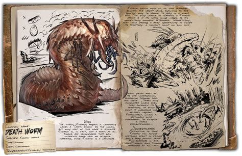 Dino Dossier: Death Worm (Scorched Earth) - ARK: Survival