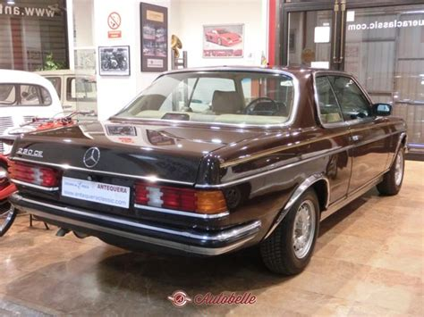 For sale MERCEDES BENZ 230 CE W123 COUPE - 1980