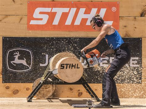 Stihl Timbersports® Brings Its Chip-Flying, Pulse-Pounding