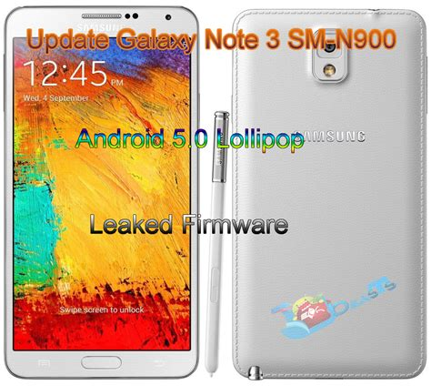 Update Galaxy Note 3 SM-N900 to Android 5